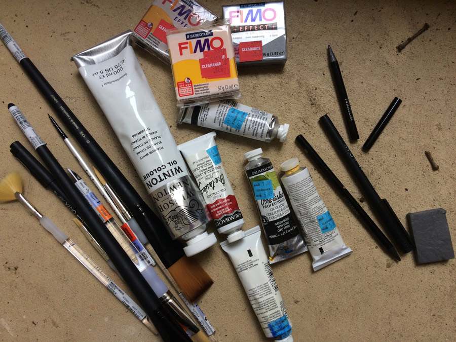 More Supplies, Some Inspiration, And Still No New Art About Medford, NJ